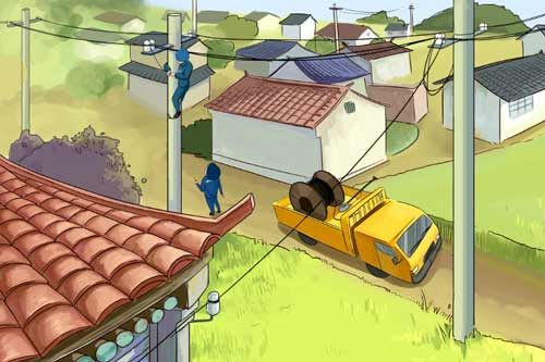 农村低压接户线电路安装与导线安全距离要求有哪些