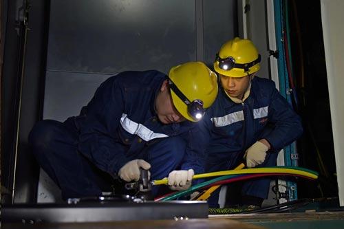电路安装后导线出线端子应如何连接