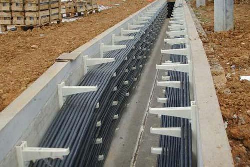 电缆线路铺设(敷设)施工程序