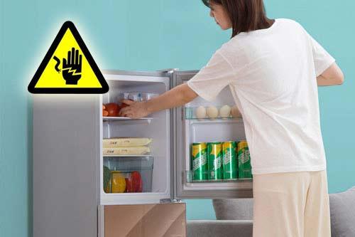 电冰箱漏电是怎么回事?电冰箱漏电怎么办?