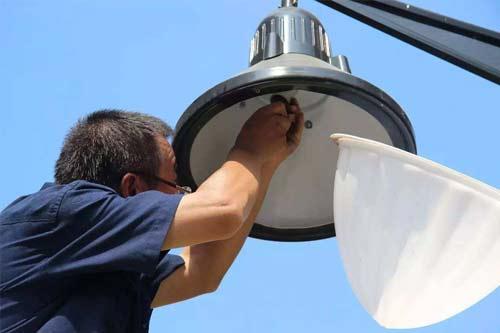 小区物业景观照明和路灯维护与管理